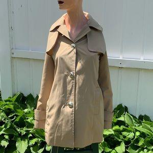 CALVIN KLEIN Beige Women's Large Trench Coat